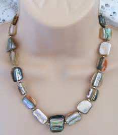 18 Abalone Shell Necklace