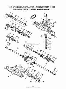 Ayp  Electrolux 951890  1992  Parts Diagram For Transaxle Foote