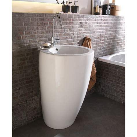 lavabo vasque sur colonne les 25 meilleures id 233 es concernant vasque totem sur salles de bains carrel 233 es jaunes