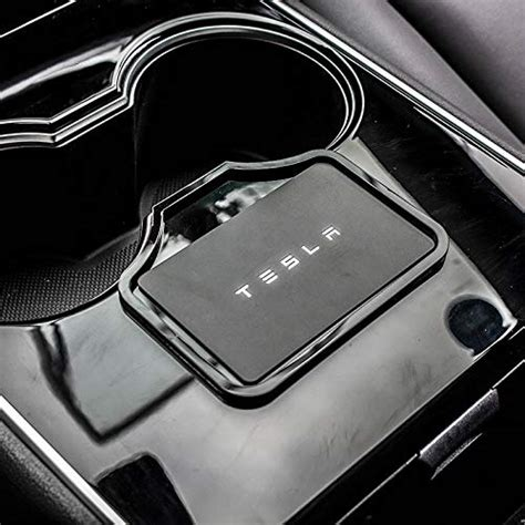 Check spelling or type a new query. Key Card Holder, Center Console Mats Cup Holder Liner for Tesla Model 3 2019 2018 2017, Red, 8 ...