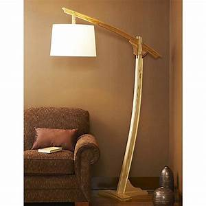 Adjustable arm floor lamp woodworking plan from wood magazine for Wood magazine floor lamp