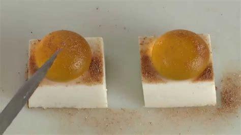 cuisine moliculaire cuisine moléculaire fondant coco amande