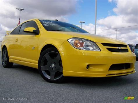2005 Rally Yellow Chevrolet Cobalt Ss Supercharged Coupe