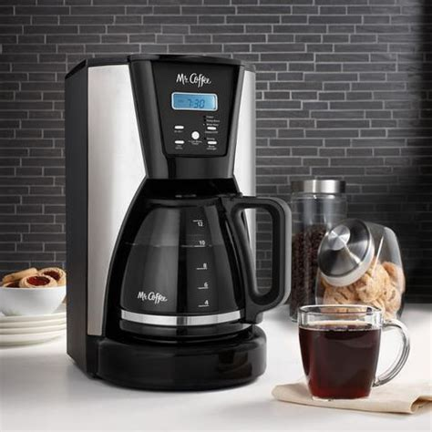 Oval shaped coffee grinders are not recommended because the grind is not consistent. Mr. Coffee 12-Cup Programmable Coffee Maker in Chrome/Black   MrOrganic Store