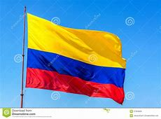 Colombian Flag stock image Image of banner, nobody, south