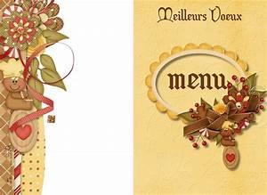 Modele De Menu A Imprimer Gratuit : modele carte menu anniversaire gratuit wizzyloremaria blog ~ Melissatoandfro.com Idées de Décoration