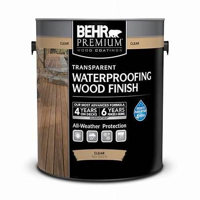 Wood Behr Transparent Finish Waterproofing Premium Finishes