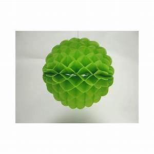 Deco Vert Anis : d co en papier boule festonn 25cm vert anis un esprit ~ Teatrodelosmanantiales.com Idées de Décoration