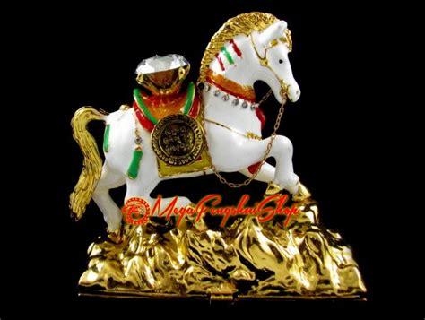 Bejewelled Wish Fulfilling Feng Shui Wind Horse