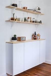 Küche Sideboard Ikea : k chenschrank diy aus ikea h ngeschr nken ikea hacks ~ Lizthompson.info Haus und Dekorationen