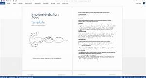 Business Development Agreement Template Implementation Plan Template Templates Forms