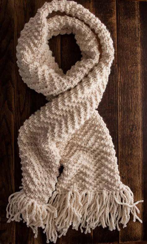 chevron scarf knitting pattern brome fields