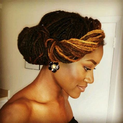 Updo Hairstyles For Dreads by 1000 Images About Twists Braids And Dreadlocks