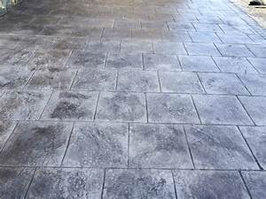 prix beton imprime beton imprime lyon With prix terrasse beton imprime