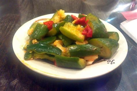 pickled cucumber korean pickled cucumber very similar to korean cucumber kimchi yelp