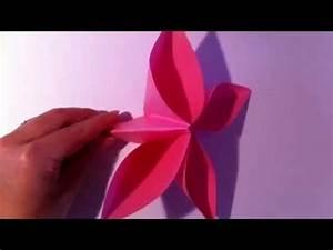 Einfache Papierblume Basteln : origami blume selber basteln papierblume falten ~ Eleganceandgraceweddings.com Haus und Dekorationen