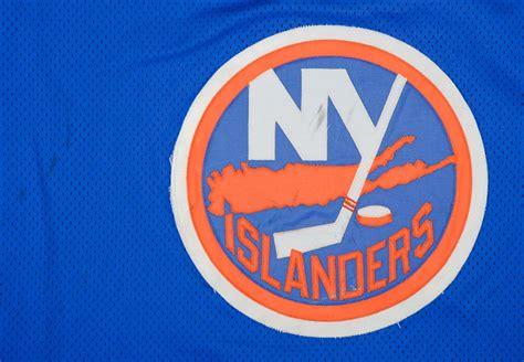 clark gillies  york islanders game worn jersey