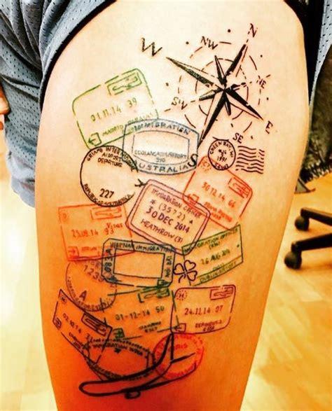 inspirational travel tattoos    perfect
