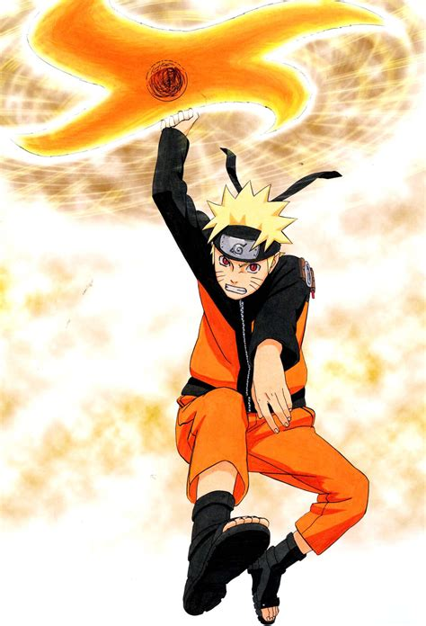 naruto artbook rasenshuriken wallpaper  iphone