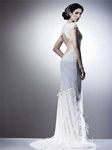 Stunning lace and beaded vintage wedding dress with open for Vintage beaded lace wedding dress