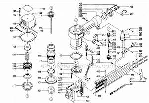 Porter Cable Fn250 Parts List And Diagram