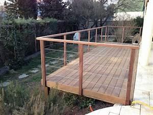Garde De Corps Terrasse : terrasse bois garde corps nos conseils ~ Melissatoandfro.com Idées de Décoration
