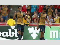 Akpom's stars as Arsenal reach Barclays Asia Trophy final