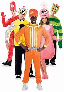 Yo Gabba Gabba Group Costume - Adult Group Halloween ...