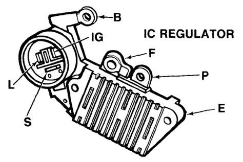 solucionado diagrama regulador de voltaga de 12v alternadores yoreparo