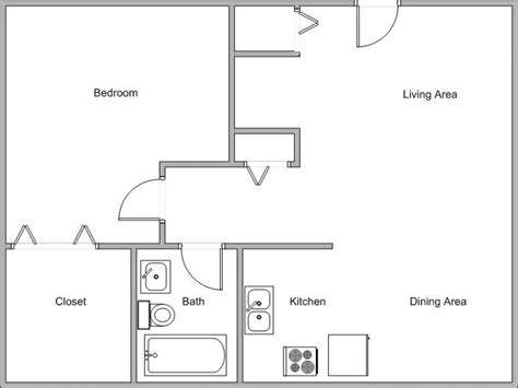 floor plan for small house best small open floor plans small house open floor plan