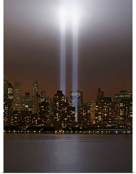poster print wall art entitled world trade center tribute