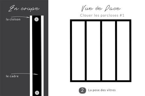 vitre separation cuisine diy une verrière style atelier pas chère pour séparer