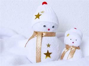 Chaussette A Neige : des bonshommes de neige en chaussette tuto ~ Teatrodelosmanantiales.com Idées de Décoration