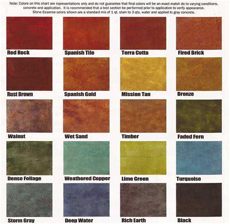 Colored Concrete Colors | Buffalo, NY | Amherst, NY ...