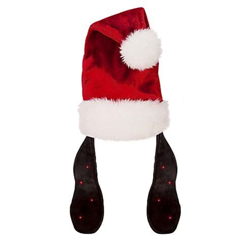 disney santa hat goofy light up ears