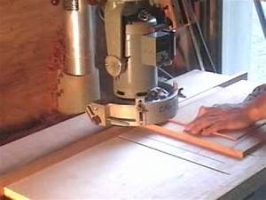 Raising A Panel On A Dewalt Radial Arm Saw
