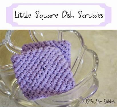 Scrubbie Crochet Square Scrubbies Pattern
