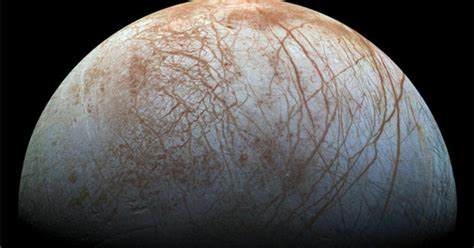 water plumes spotted  jupiters moon europa cbs news