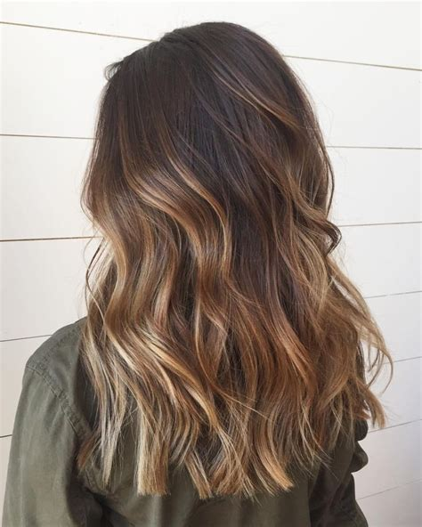 brown balayage hair beauty color  happy