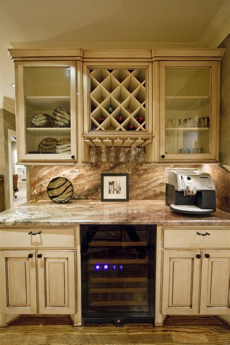 dazzling  cabinet wine glass rack  kitchen eclectic
