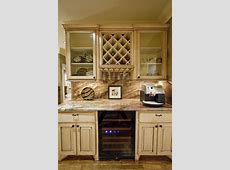 Dazzling under cabinet wine glass rack in Kitchen Eclectic
