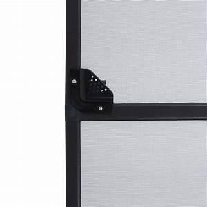 Türrahmen Ohne Tür : fliegengitter t r 95x210 cm braun insektenschutz alurahmen fliegenschutz ebay ~ Orissabook.com Haus und Dekorationen