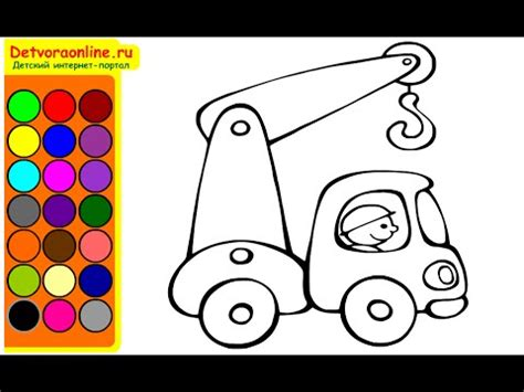 tow truck coloring pages  kids tow truck coloring