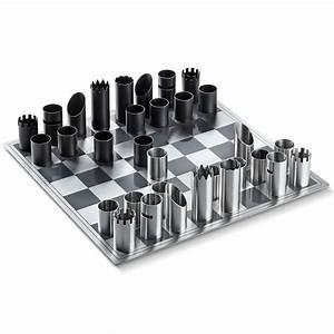 Jeu D échec Design : jeu d 39 chec en acier philippi ~ Preciouscoupons.com Idées de Décoration