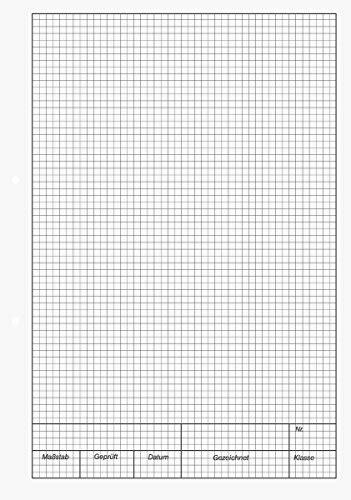 fogli a quadretti da stare pdf brunnen blocco per schizzi quot kieser quot formato a4 a