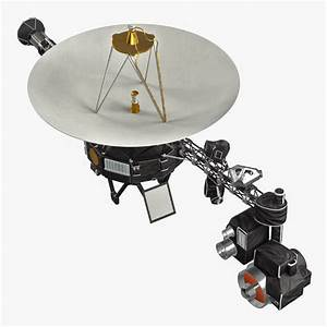 3d model of Voyager 1 by 3d_molier: Collection of 3D ...