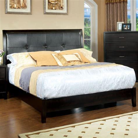 cal king platform bedroom sets furniture of america muscett platform california king bed