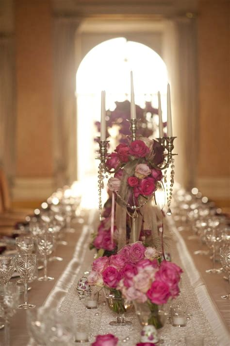 Candele Fiori by Finest Table Decoration Pink Palette Chandliers