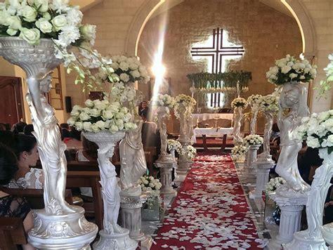 church weddings floral designs bekaa lebanon  sawaya flowers