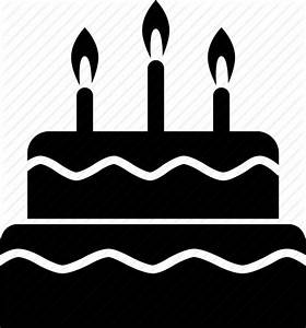 Birthday, cake, candle, party, tier icon   Icon search engine